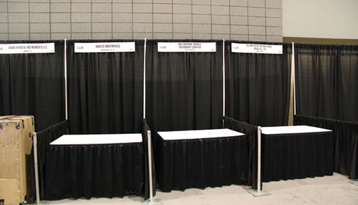 Exhibitor Booth Setup : Namm offers booth options to fit your business