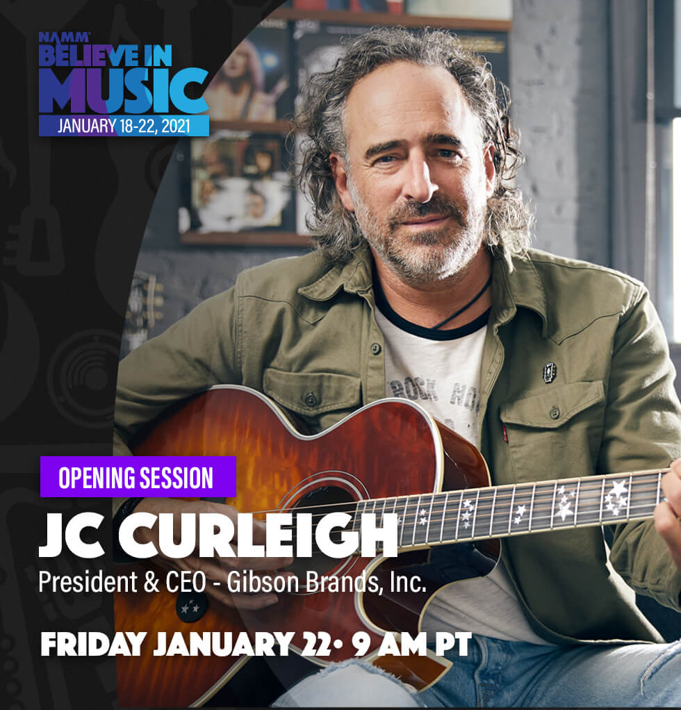 Believe in Music Week Opening Session With JC Curleigh