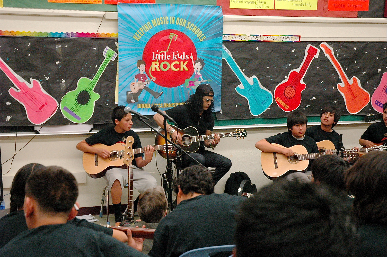 Famous Rock Guitarist Students Surprised by ...