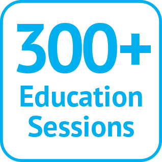400+ Education Sessions