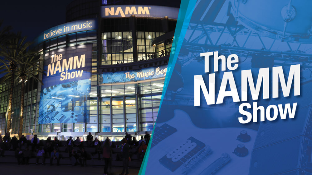 The NAMM Show at the Anaheim Convention Center in Anaheim, CA