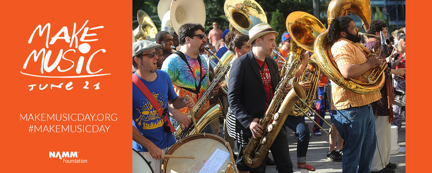 Make Music Day 2019 presented by NAMM Foundation