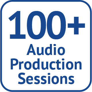 100+ Audio Production Sessions