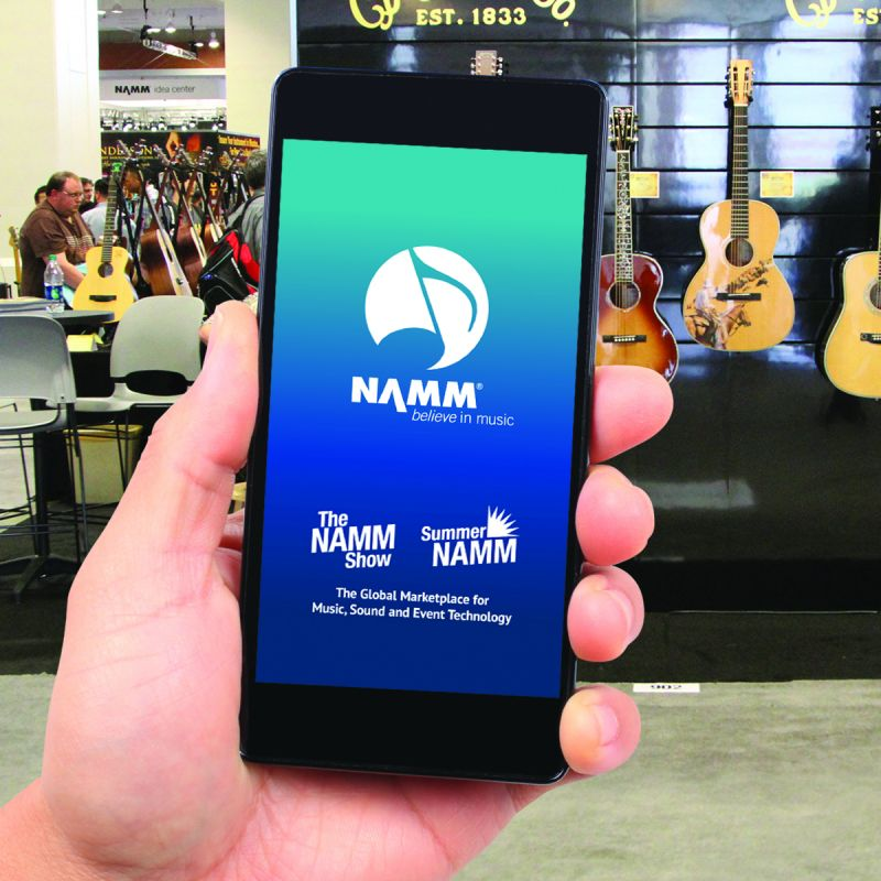 navigate the show with the new and improved 2019 namm show mobile