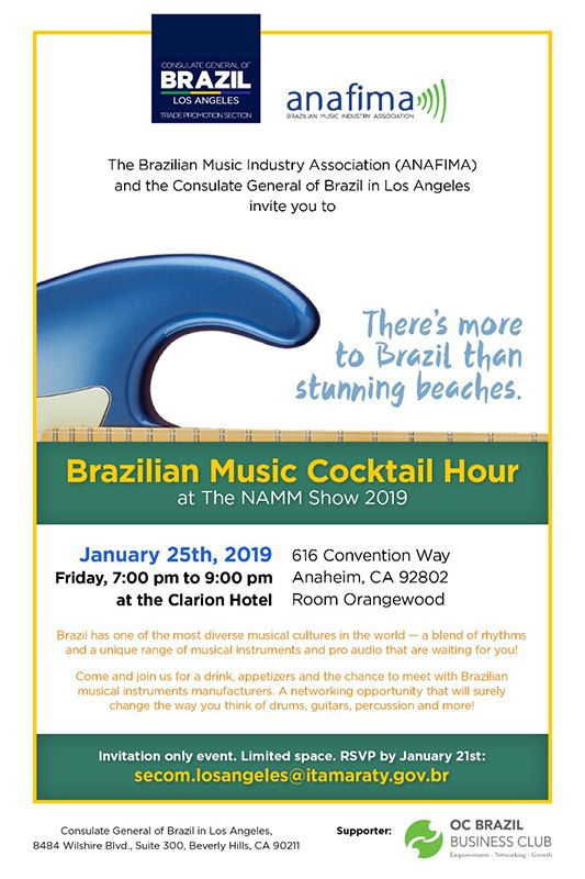 Brazilian Music Cocktail Hour | NAMM org
