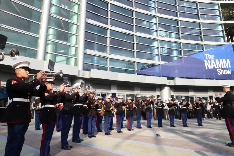 The 2020 NAMM Show Grand Opener: U.S. Marine Corps Marching Band
