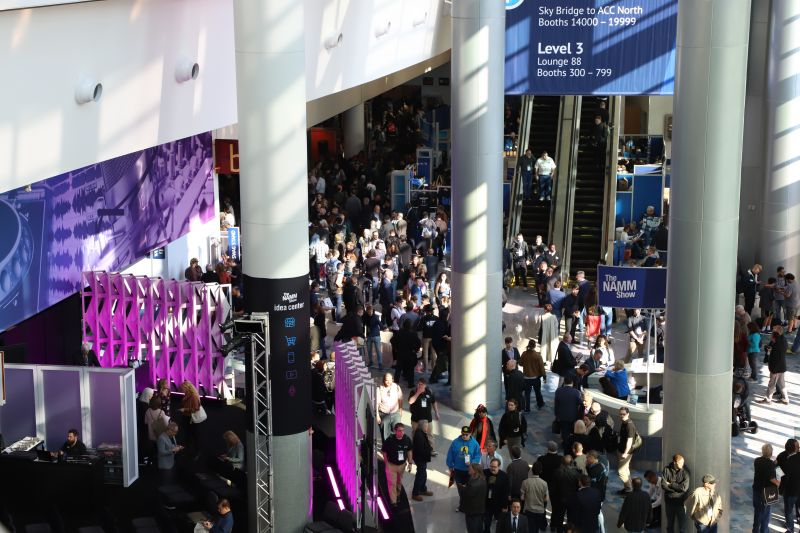 The 2020 NAMM Show Opening Thursday Morning