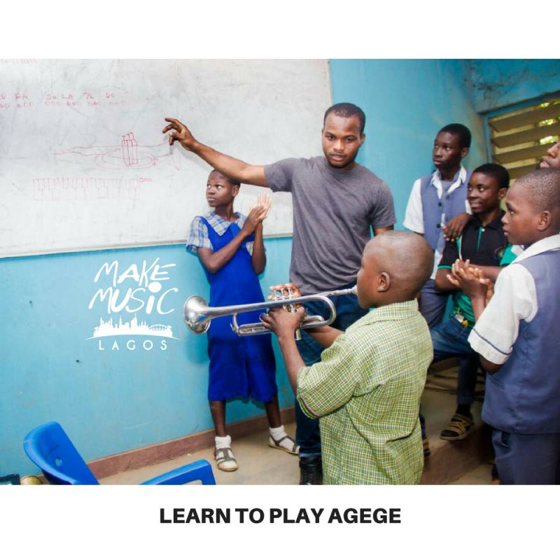 Learn to Play Make Music Lagos