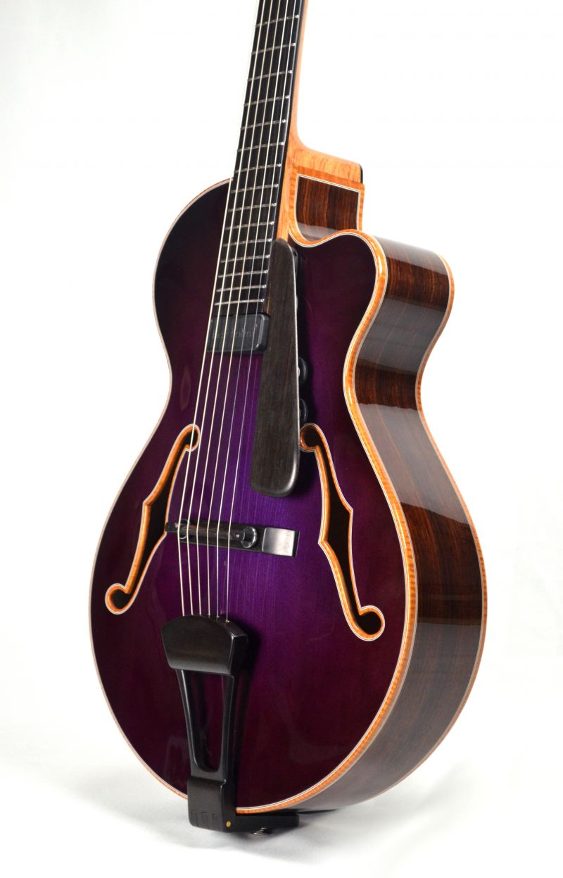 "15"" Purple Archtop"