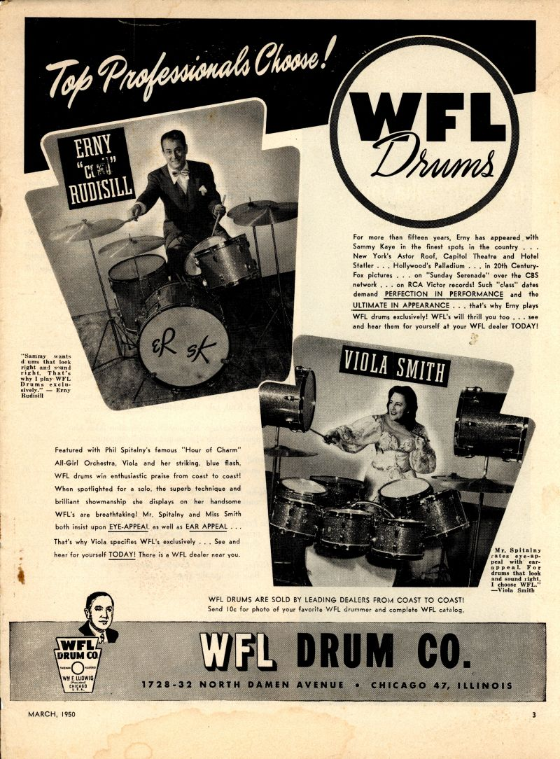 Viola Smith WFL Endorsement Ad