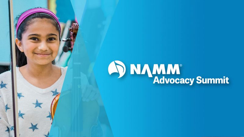 NAMM Advocacy Summit young girl