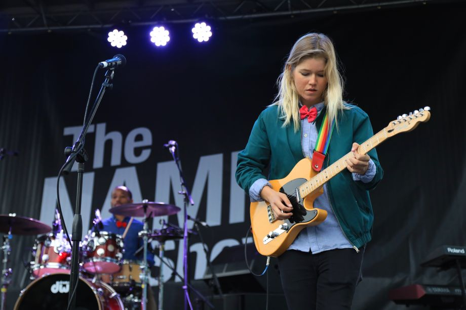 Bands performed throughout the day across 5 stages across The NAMM Campus.
