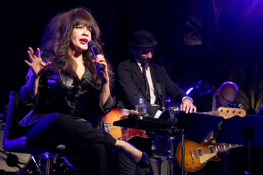 Ronnie Spector and the Ronettes perform Saturday night on The NAMM Nissan Grand Plaza Stage (Photo by Jesse Grant/Getty Images for NAMM)