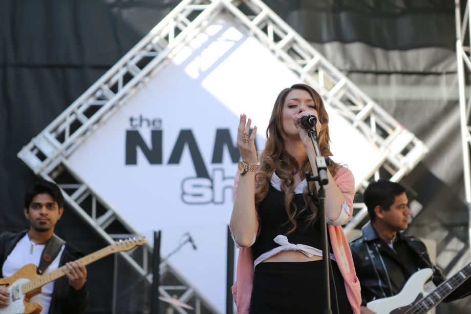 Kiersty Rouge performs at The NAMM Show (Photo by NAMM Staff)