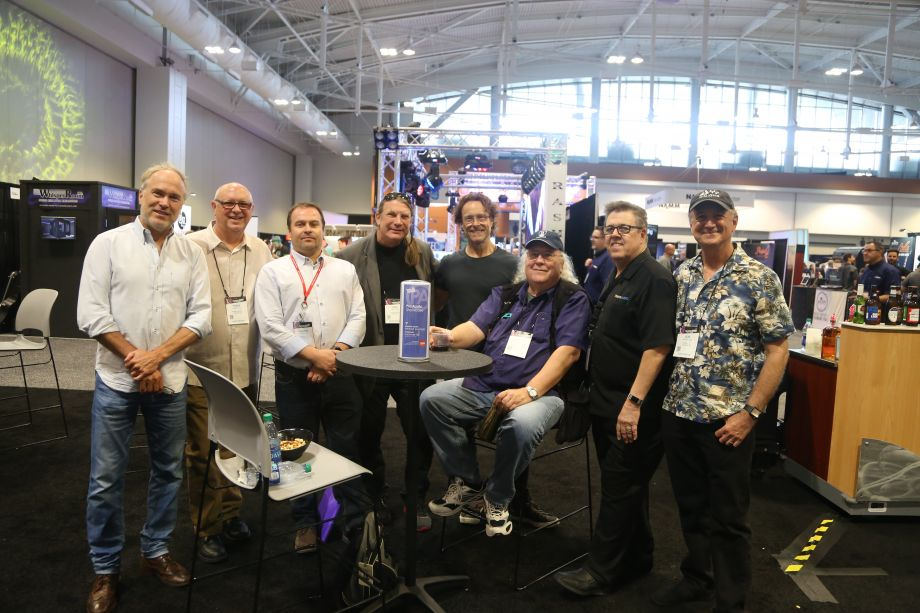 From left to right: Ben Fowler, Frank Wells, Graham Kirk, Mark Frink, Jeff Balding, Bill VornDick, Brad Lundy, Bob Bullock