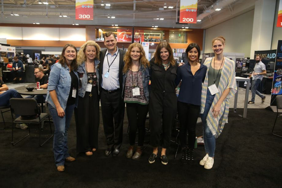 From left to right: Erin Enderlin, Sharon Corbitt, Andy Tompkins, Alex Kline, Tracy Gershon, Shani Gandhi, Femke Weidema