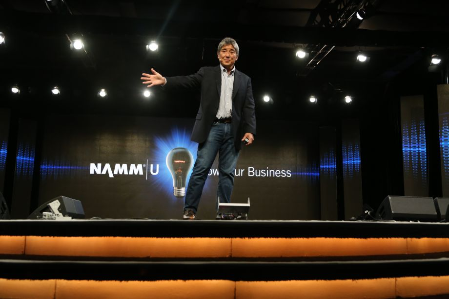 Guy Kawasaki presents his