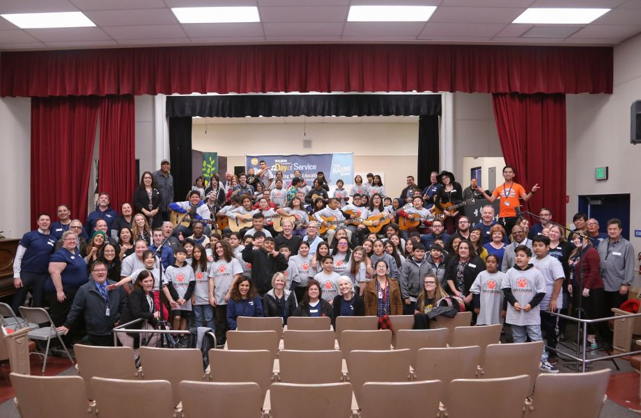 NAMM Foundation's Day of Service