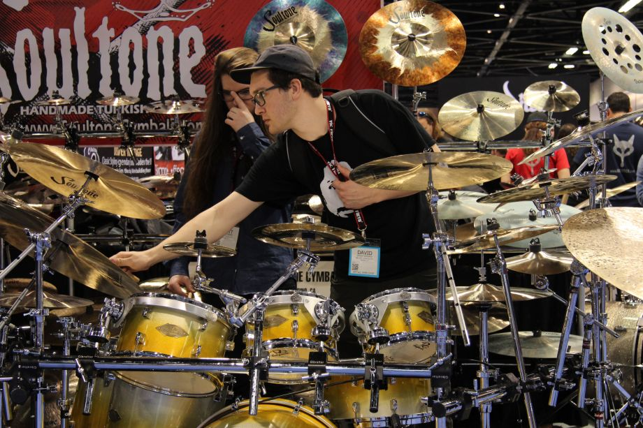 Business as usual at The NAMM Show (Photo by NAMM Staff)