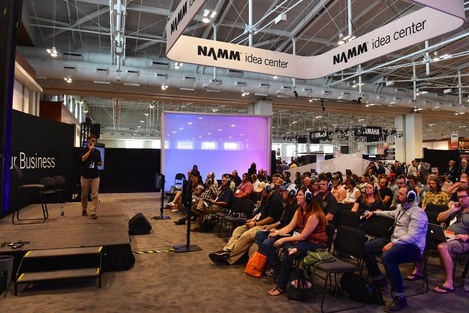 Business intelligence delivered (Photo by Jason Davis/Getty Images for NAMM)