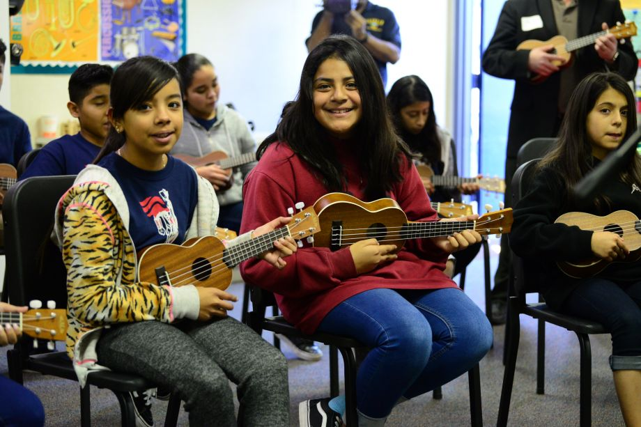 Students enjoy NAMM Foundation Day of Service activities