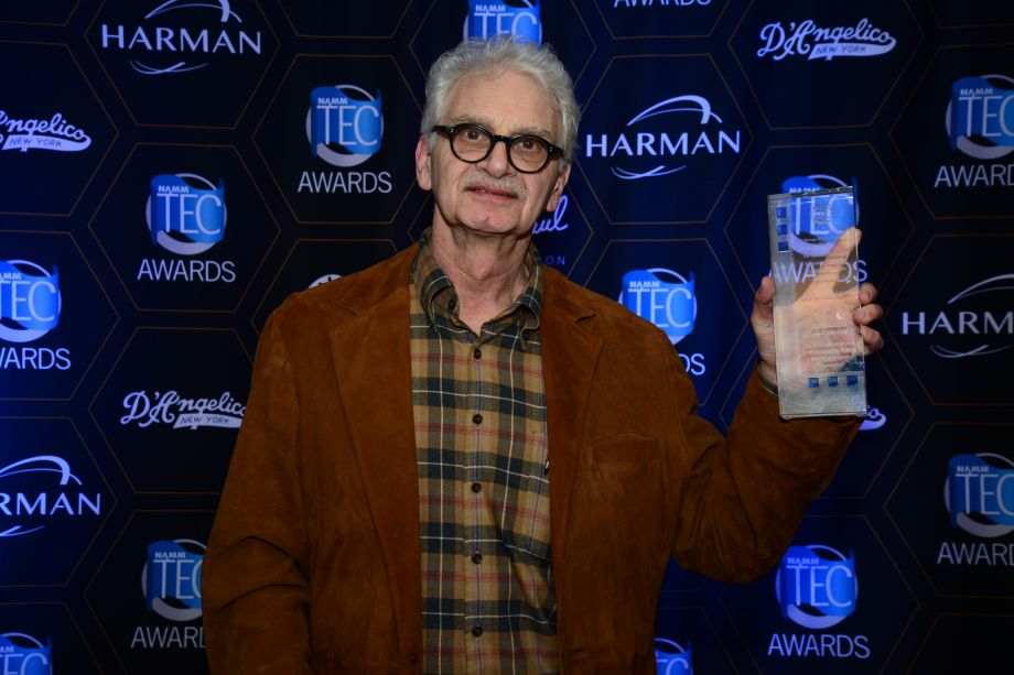 Legendary producer Jack Douglas receives the TEC Hall of Fame award