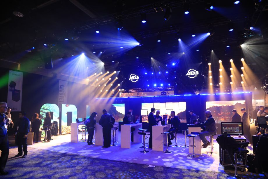 Lighting and event technology have found their home at NAMM.