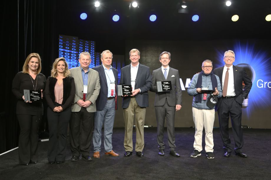 NAMM Milestone Awards with NAMM President and CEO, Joe Lamond.