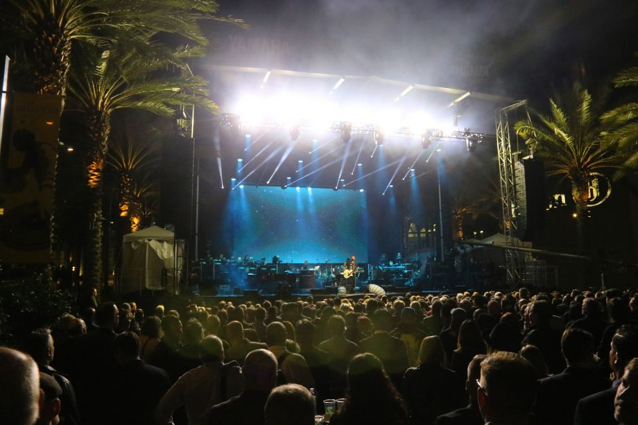 Crowds gathered for the Yamaha All-Star Concert on the Grand 2018.