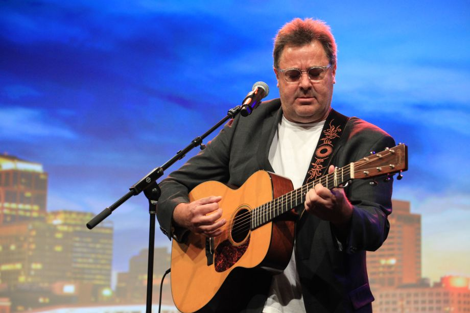 Vince Gill performed at the American Eagle Awards on Saturday at Summer NAMM