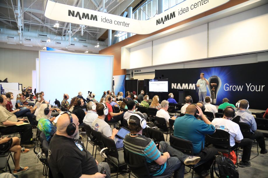 NAMM U Idea Center sessions presents the latest topics to help your business succeed.