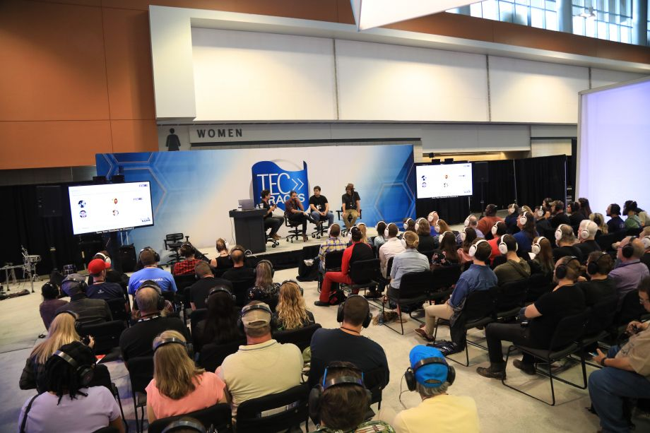 TEC Tracks sessions wrapped up on Saturday  with a variety of industry topics.