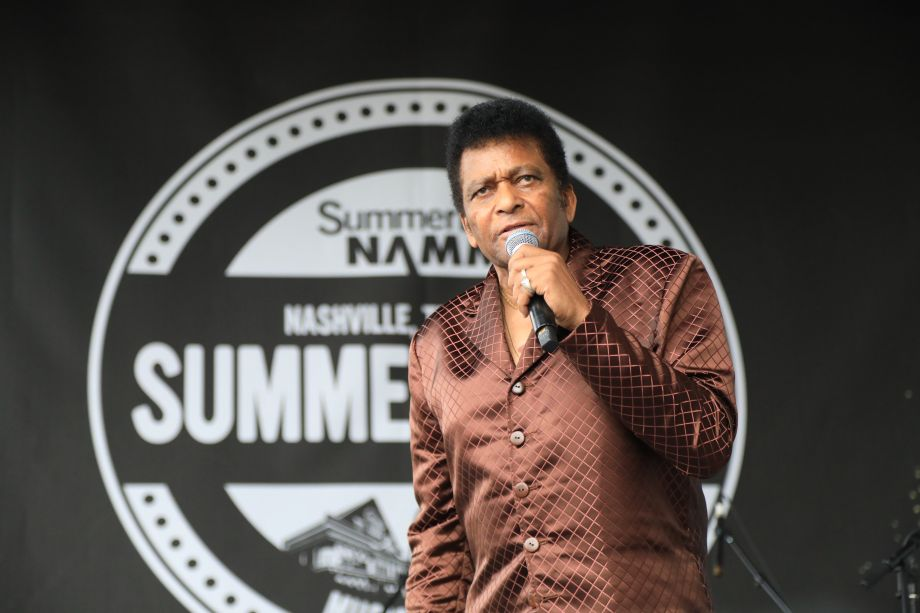 Legendary musician Charley Pride performs hit songs at Summer NAMM.