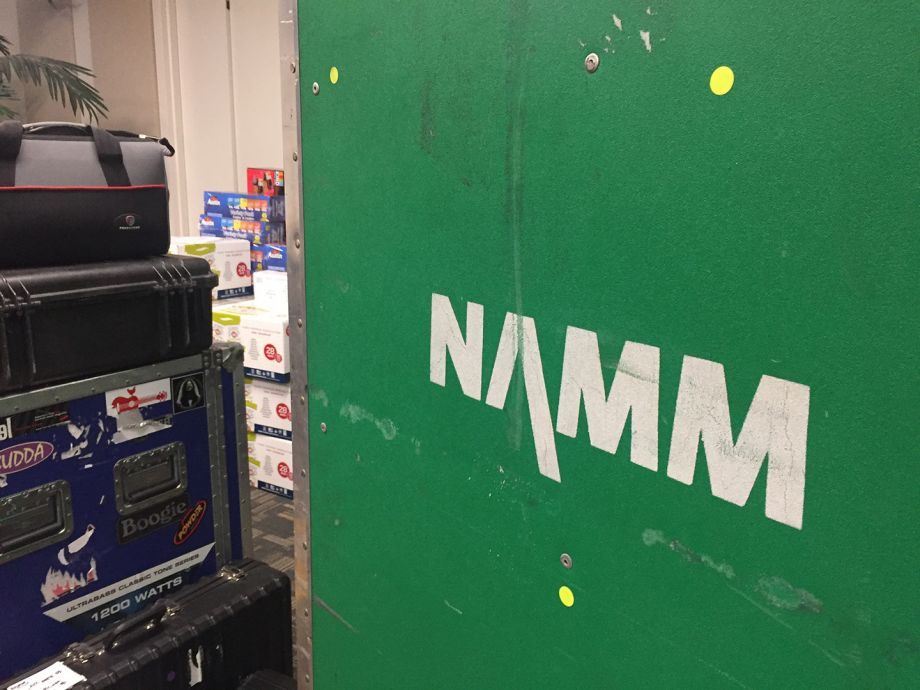 NAMM packs up at headquarters in San Diego.