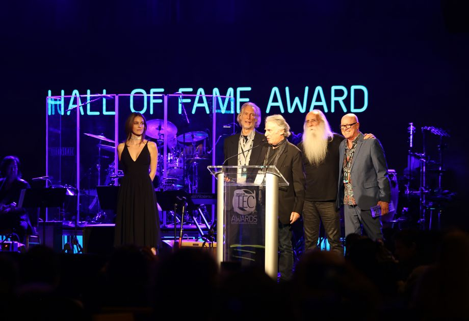 The induction of The Section into the TEC Hall of Fame