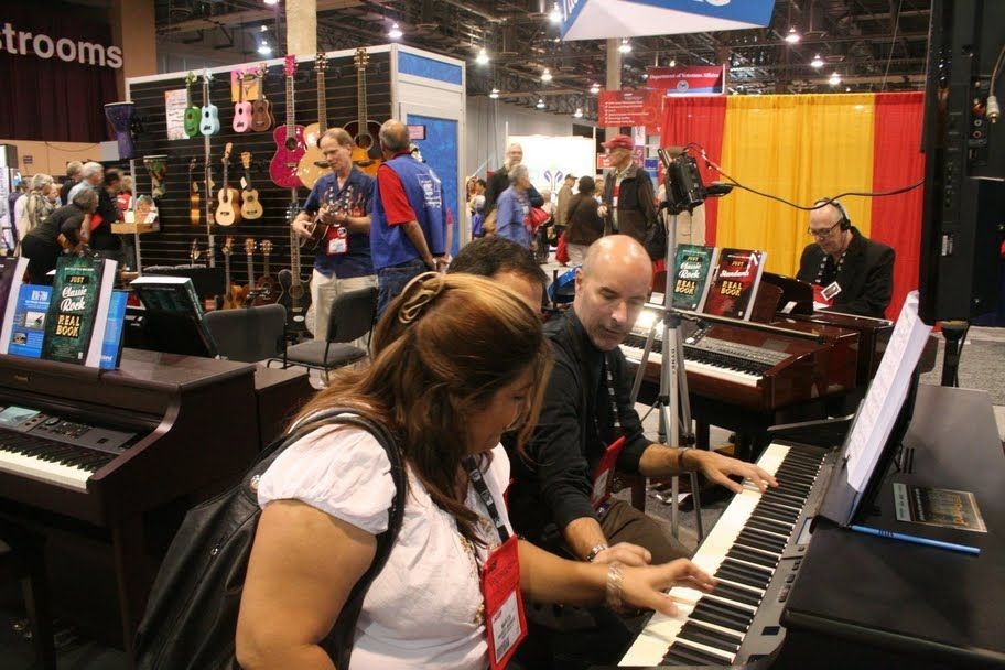 NAMM's Wanna Play? Booth Is One of Top 10 Onsite Booth