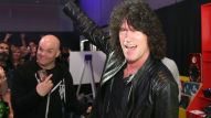 Tommy Thayer of KISS is spotted at the Gibson booth (Photo by Jesse Grant/Getty Images for NAMM)