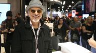 Billy Bob Thornton checked out the new products on the show floor. (Photo by Jesse Grant/Getty Images for NAMM)