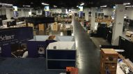 Setup is underway at The NAMM Show 2016