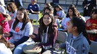 Loara Elementary Students Participate in Drum Circle