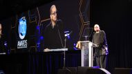 Actor / Comedian Sinbad hosts the 31st Annual NAMM TEC Awards (Photo by Stuart Robertson, NAMM Staff)
