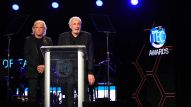 Legends Singer-songwriter Joe Walsh and producer Bill Szymczyk present at the 31st Annual NAMM TEC Awards (Photo by Stuart Robertson, NAMM Staff)