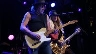 Richie Sambora + Orianthi rock out for NAMM's opening night performance