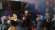 Live music performances at The NAMM MUSEUM of Making Music booth outside of Hall E