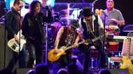 Alice Cooper, Johnny Depp and Joe Perry perform at The 32nd Annual TEC Awards