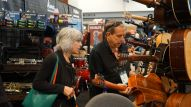 Buyers check out the latest products at Summer NAMM