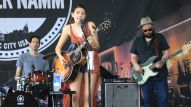 The NAMM Reverb Stage on the Terrace features live entertainment from Nashville's local talent.