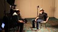 Dan Del Fiorentino conducts oral history interviews of music and sound legends at Summer NAMM