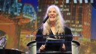 Patti Smith gives an inspirational acceptance speech reflecting on her music career.