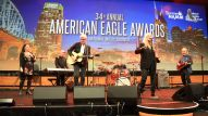 Crystal Gayle, Patti Smith, Harry Shearer and NAMM President/CEO Joe Lamond rock out to